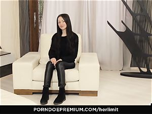 HER restrain meaty tits stunner takes ample fuckpole in gaped butt