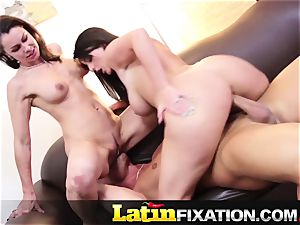 LatinFixation super-hot threeway with Sophie Dee