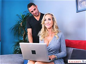 Brandi enjoy phat jug milf plumbs man