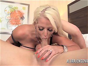 huge melon mummy Alura Jenson has her taut vulva impaled