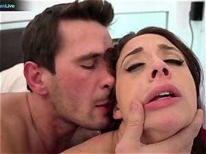 naughty babe Chanel Preston raunchy assfucking session