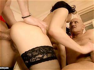 Jessica Koks senses the shagging firm man rod pleasuring her bum like super-naughty