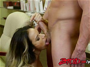 ZTOD - scorching lady manager pounded by stockboy