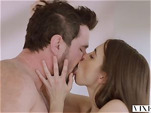 VIXEN Riley Reid has mighty threeway with Ana Foxxx and boyfriend
