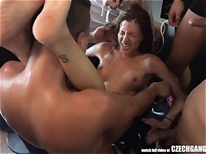 sloppy Twins ruined at gang-bang