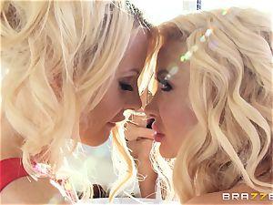three blondie sapphic screwing