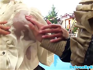 insane 3 lesbians fisting and pusslicking