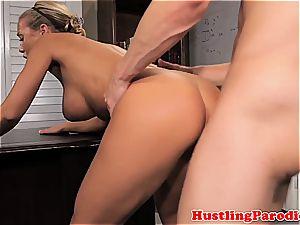 Nicole seducing some random guy