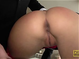 PASCALSSUBSLUTS - Barbie Victoria unspoiled dominated rectally