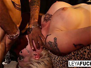 Leya Falcon Gets molten buttfuck