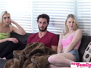 StepBro almost Caught ravaging His nubile Sisters S2:E6