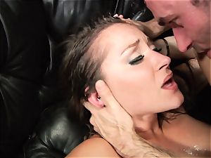 Dani Daniels gets blasted with thick man-meat juices