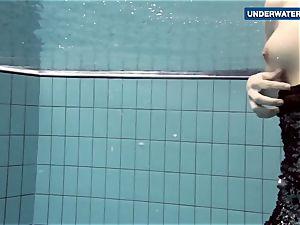 showcasing bright orbs underwater makes everyone super-naughty