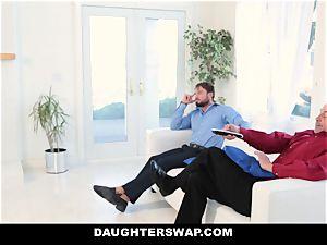 DaughterSwap - scorching daughters Get spread
