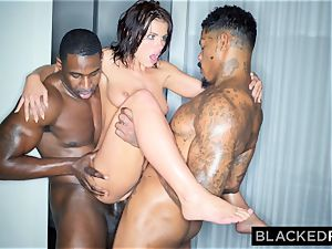 BLACKEDRAW Adriana Chechik Needs A dual dose Of big black cock