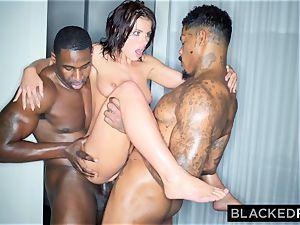 BLACKEDRAW Adriana Chechik Needs A dual dose Of big black cock