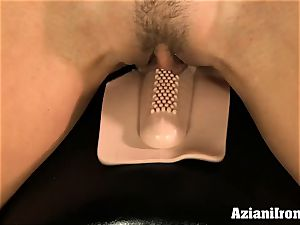 Brandi enjoy rides the sybian nude