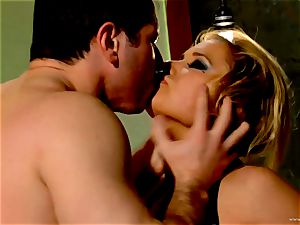 Shyla Stylez takes this hard dick deep in her cock-squeezing booty