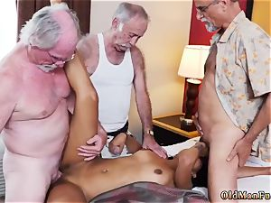 dad pummels partner playfellow s sonnies damsel and elder duo seduce young Staycation with a