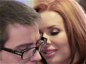Mean mom Veronica Avluv plows her daughter's guy