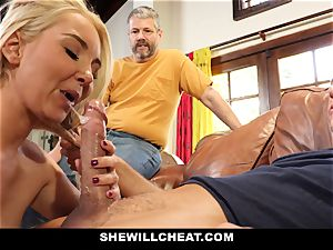 SheWillCheat - Step mommy Cheats on Traveling hubby
