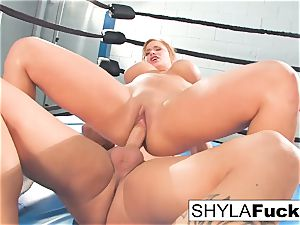 mind-blowing Shyla gets some instructing