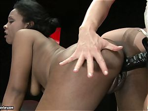 red-hot Kathia Nobili likes poking her playmates twat hard from behind