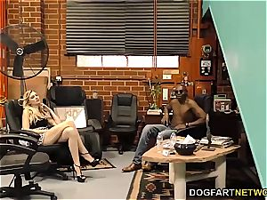 Alexa grace takes bbc in front of her spouse