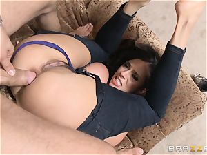 Ariella Ferrera gets forgiven with some anal fuck-a-thon