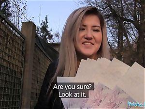 Public Agent super-cute Russian loves hook-up for cash