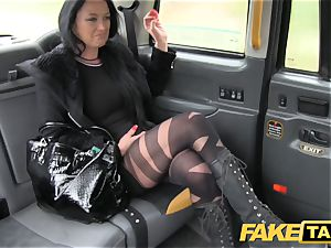 fake taxi Local hooker pummels taxi stud