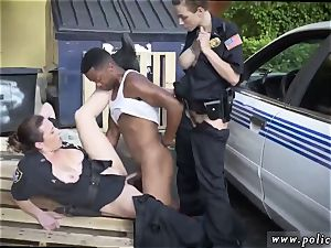 cougar cuckold young and gets demolished I will catch any perp with a humungous dark-hued schlong, and