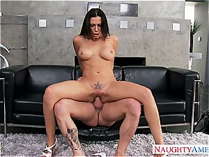 big-boobed girlfriend Rachel Starr banging