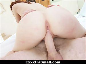 ExxxtraSmall - puny Alice Green's vagina fucking!