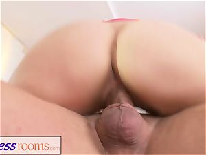 sport apartments hump hungry light-haired Russian mummy inhale