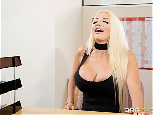Nicolette Shea gets her concentration investigated in this super-fucking-hot interview