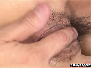chinese boys fucktoys held hottie s unshaved vibrating snatch