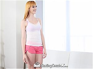 red-haired teenage Anny Aurora gets romped