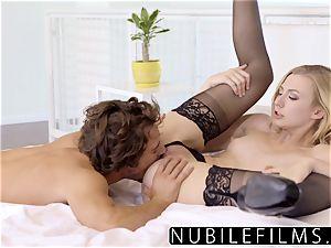 NubileFilms - mischievous light-haired Alexa mercy powerful fuck-fest
