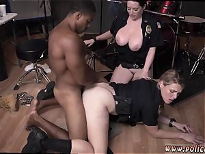 fledgling milf glasses humid video takes hold of cop romping a deadbeat dad.