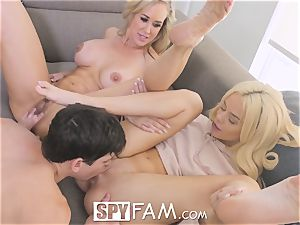 SpyFam Step mommy Brandi love gives Elsa Jean hook-up advice
