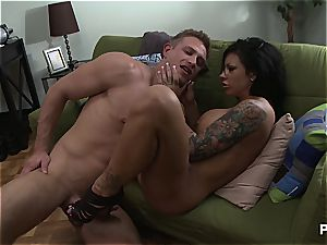 Mason Moore porked rock hard until she squirts