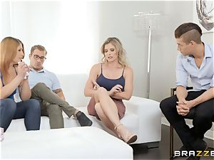 Cory haunt packing a gigantic manstick into her vagina