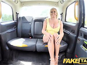 faux cab hefty orbs ash-blonde Michelle Thorne