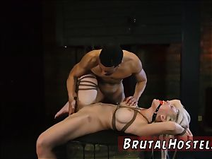restrain bondage tourist trap Big-breasted towheaded beauty Cristi Ann is on vacation boating and