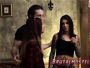 nappy bdsm first time exhilarated youthful tourists Felicity Feline and Jade Jantzen are