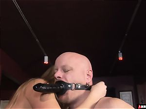 female dom whips and manages until ass-fuck internal ejaculation
