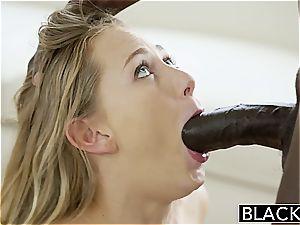 Carter Cruise enjoys big black cock