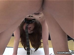 japanese anxiously pleases her spouse s furry meat rocket