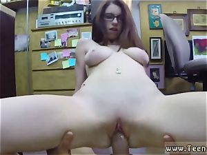 humungous caboose bosoms college nymph Jenny Gets Her bootie penetrated At The Pawn Shop